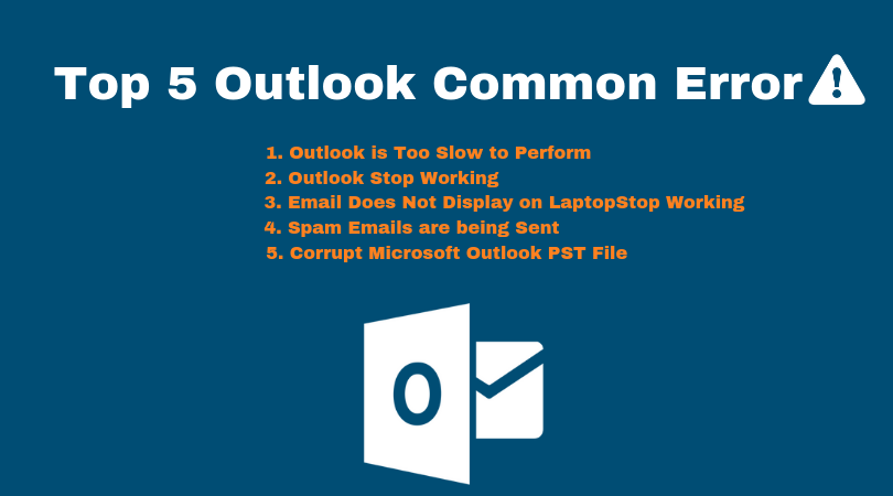 5 Outlook Common Errors
