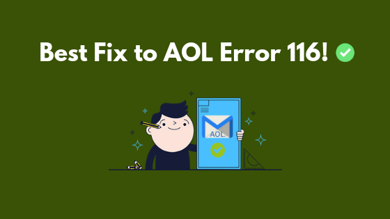 How to fix AOL Error 116