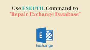 Use ESEUTIL Commands