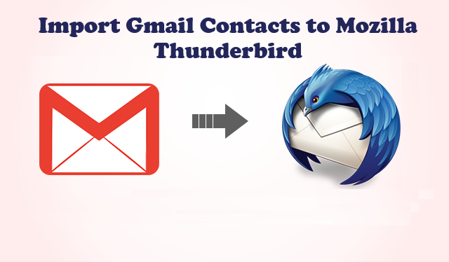 Import Gmail Contacts to Thunderbird